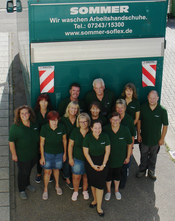 Sommer Recycling Team